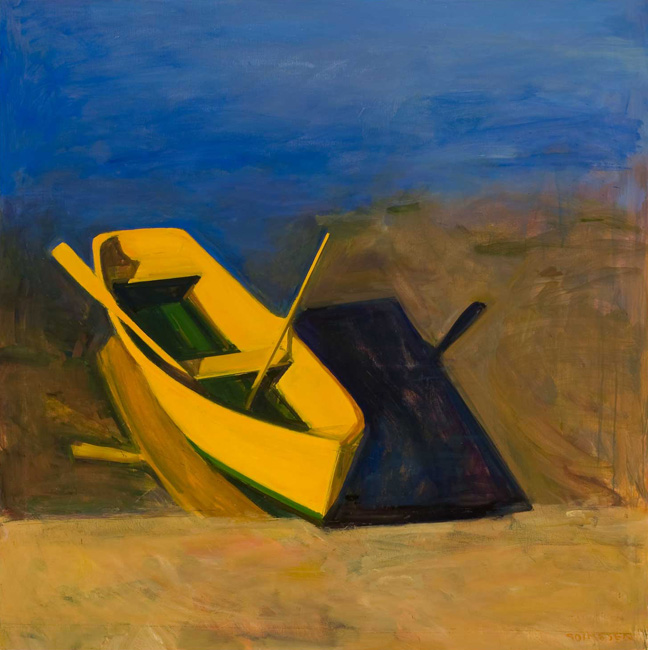 Yellow Boat Morning
